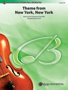 Cover icon of New York, New York, Theme from (COMPLETE) sheet music for full orchestra by John Kander
