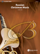 Cover icon of Russian Christmas Music (COMPLETE) sheet music for concert band by Alfred Reed