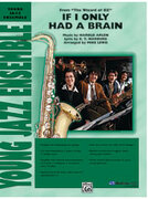Cover icon of If I Only Had a Brain (COMPLETE) sheet music for jazz band by Anonymous and Mike Lewis, easy