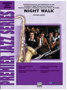 Cover icon of Night Walk sheet music for jazz band (full score) by Victor Lopez, intermediate/advanced