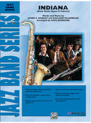 Cover icon of Indiana (COMPLETE) sheet music for jazz band by James Hanley