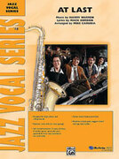 Cover icon of At Last sheet music for jazz band (full score) by Anonymous
