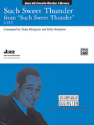 Cover icon of Such Sweet Thunder sheet music for jazz band (full score) by Duke Ellington and Billy Strayhorn