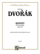 Cover icon of String Quintet in E-Flat Major, Op. 97 (COMPLETE) sheet music for string quintet by Antonin Dvorak and Antonin Dvorak, classical score, intermediate