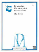 Cover icon of Percussive Counterpoint sheet music for percussions (full score) by Alan Keown