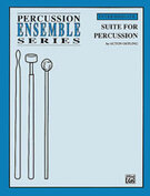 Cover icon of Suite for Percussion (COMPLETE) sheet music for percussions by Acton Ostling