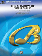 Cover icon of The Shadow of Your Smile sheet music for string orchestra (full score) by Johnny Mandel, Paul Francis Webster and Calvin Custer, intermediate