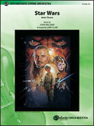 Cover icon of Star Wars sheet music for string orchestra (full score) by Anonymous and Larry Clark