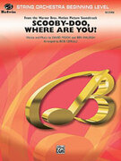 Cover icon of Scooby-Doo, Where Are You? (COMPLETE) sheet music for string orchestra by David Mook