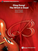 Cover icon of Ding Dong! The Witch Is Dead sheet music for string orchestra (full score) by Harold Arlen