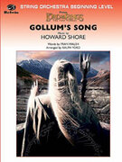 Cover icon of Gollum's Song sheet music for string orchestra (full score) by Howard Shore, beginner