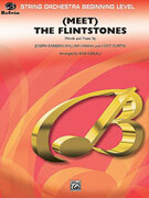 Cover icon of (Meet) The Flintstones sheet music for string orchestra (full score) by Joseph Barbera