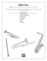 Cover icon of Right Now (COMPLETE) sheet music for Choral Pax by Sammy Hagar