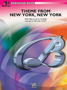 Cover icon of New York, New York, Theme from (COMPLETE) sheet music for concert band by John Kander and Michael Story, beginner skill level