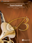 Cover icon of Court Festival (COMPLETE) sheet music for concert band by William P. Latham