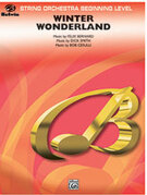 Cover icon of Winter Wonderland sheet music for string orchestra (full score) by Felix Bernard and Bob Cerulli