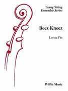 Cover icon of Beez Kneez sheet music for string orchestra (full score) by Loreta Fin