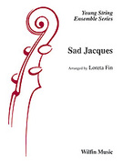 Cover icon of Sad Jacques sheet music for string orchestra (full score) by Anonymous, beginner