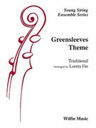 Cover icon of Greensleeves Theme sheet music for string orchestra (full score) by Anonymous, beginner