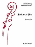 Cover icon of Jackaroo Jive (COMPLETE) sheet music for string orchestra by Loreta Fin, easy orchestra