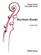 Cover icon of Rhythmic Rondo sheet music for string orchestra (full score) by Loreta Fin