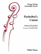 Cover icon of Pachelbel's Canon sheet music for string orchestra (full score) by Anonymous and Loreta Fin