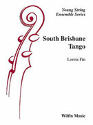 Cover icon of South Brisbane Tango sheet music for string orchestra (full score) by Loreta Fin