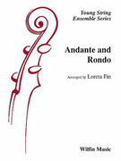 Cover icon of Andante and Rondo sheet music for string orchestra (full score) by Anonymous and Loreta Fin