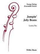 Cover icon of Jumpin' Jelly Beans sheet music for string orchestra (full score) by Loreta Fin, easy orchestra