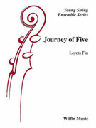 Cover icon of Journey of Five (COMPLETE) sheet music for string orchestra by Loreta Fin