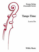 Cover icon of Tango Time sheet music for string orchestra (full score) by Loreta Fin