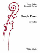 Cover icon of Boogie Fever sheet music for string orchestra (full score) by Loreta Fin