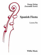 Cover icon of Spanish Fiesta sheet music for string orchestra (full score) by Loreta Fin
