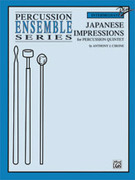 Cover icon of Japanese Impressions (COMPLETE) sheet music for percussions by Anthony J. Cirone, intermediate