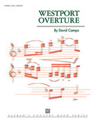 Cover icon of Westport Overture sheet music for concert band (full score) by David Campo, intermediate concert band (full score)