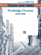 Cover icon of Northridge Overture sheet music for concert band (full score) by John O'Reilly, beginner