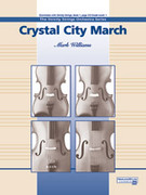 Cover icon of Crystal City March sheet music for string orchestra (full score) by Mark Williams