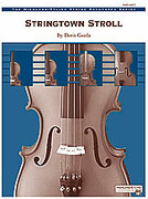 Cover icon of Stringtown Stroll (COMPLETE) sheet music for string orchestra by Doris Gazda