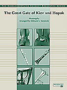 Cover icon of Great Gate of Kiev and Hopak (COMPLETE) sheet music for full orchestra by Modest Petrovic Mussorgsky