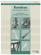 Cover icon of Rondeau sheet music for full orchestra (full score) by Jean-Joseph Mouret