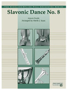 Cover icon of Slavonic Dance No. 8 sheet music for full orchestra (full score) by Antonin Dvorak and Antonin Dvorak, classical score, easy/intermediate