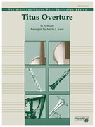 Cover icon of Titus Overture sheet music for full orchestra (full score) by Wolfgang Amadeus Mozart and Merle Isaac, classical score, easy orchestra