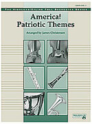 Cover icon of America! Patriotic Themes (COMPLETE) sheet music for full orchestra by Anonymous and James Christensen