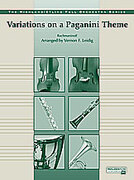 Cover icon of Variations on a Paganini Theme sheet music for full orchestra (full score) by Serjeij Rachmaninoff, Serjeij Rachmaninoff and Vernon Leidig
