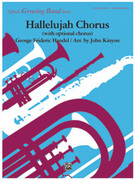 Cover icon of Hallelujah Chorus sheet music for concert band (full score) by George Frideric Handel and John Kinyon