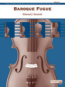 Cover icon of Baroque Fugue (COMPLETE) sheet music for string orchestra by Edmund J. Siennicki, easy skill level