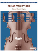 Cover icon of Minor Variations (COMPLETE) sheet music for string orchestra by Marsha Chusmir, easy skill level