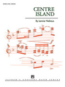 Cover icon of Centre Island sheet music for concert band (full score) by Lennie Niehaus