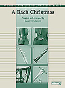 Cover icon of A Bach Christmas sheet music for full orchestra (full score) by Anonymous and Susan Christiansen