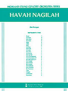 Cover icon of Havah Nagilah (COMPLETE) sheet music for full orchestra by Anonymous and Jim Kreger, intermediate orchestra